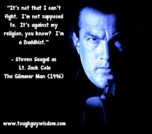 Glimmer Man Buddhist quote