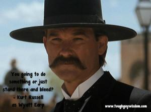 Kurt Russell Wyatt bleed